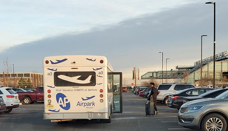 Newark Airport Off Site Parking Shuttle